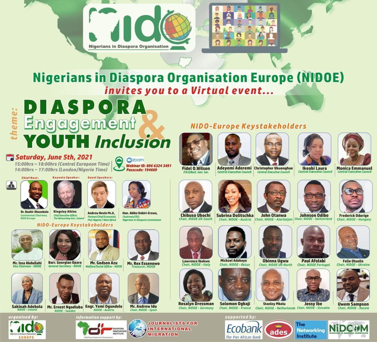 NIDOE Youth engagement 2021
